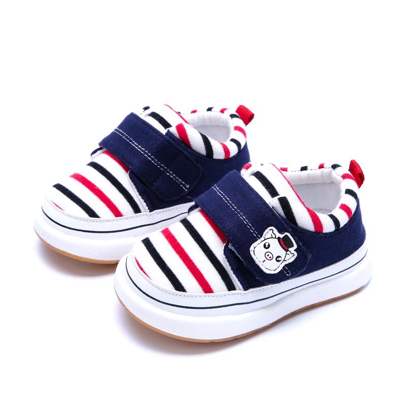 春秋季婴儿软底学步鞋男童幼儿小宝宝布鞋子儿童单鞋女0-1-3岁2一