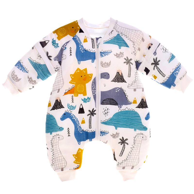 drgreen婴儿防惊跳睡袋秋冬投降式襁褓新生包被抱被防踢被神器薄