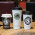 Pu Jing Thickened Disposable Coffee Milk Tea Hot Drink Paper Cup Take-out Packaging Cup Soy Milk Cup with Lid Custom