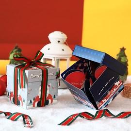 。圣诞苹果袋礼物袋平安果包装盒创意个性圣诞节苹果盒高档平安夜