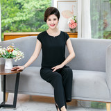 Chiffon jumpsuit female 2020 spring new Korean fashion casual jumpsuit high waist wide leg pants suit