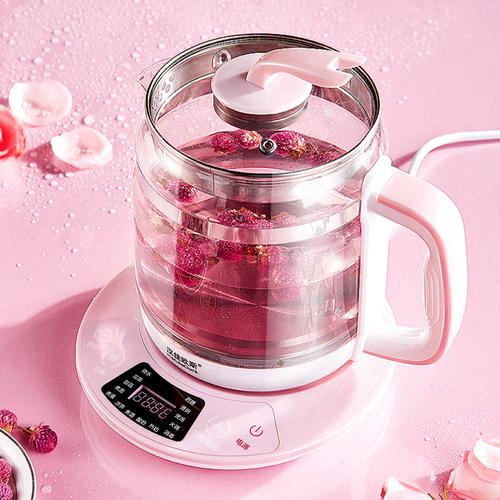 万锐养生壶家用多功能全自动办公室小型一体玻璃养身煮茶器花茶壶