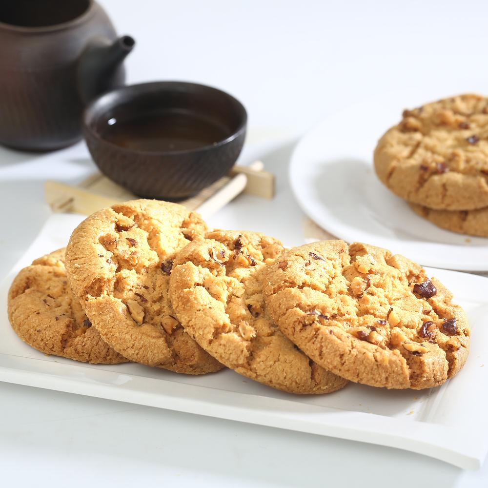 xw矿大妈特产黑芝麻桃酥饼干老式传统糕点心休闲零食品小吃