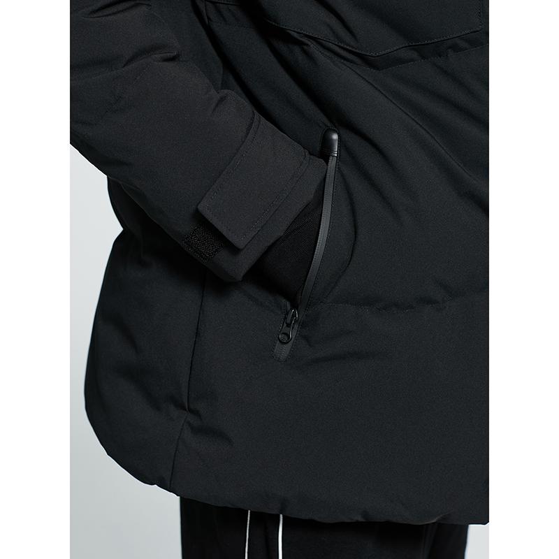 艾莱依 秋冬新款简约男士羽绒服休闲撞色防寒保暖白鸭绒外套  2020