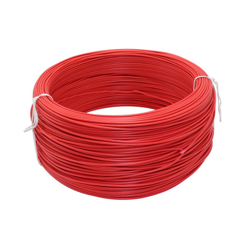 包塑铁丝 电缆扎线带0.9圆100米 铁扎带 捆绑金属扎绳 铁芯绑扎线