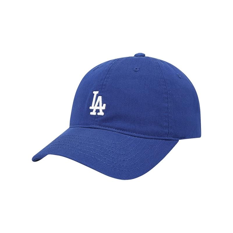 32CP77911 夏季時尚軟頂棒球帽鴨舌帽 LA NY 彎檐帽 ROOKIE MLB