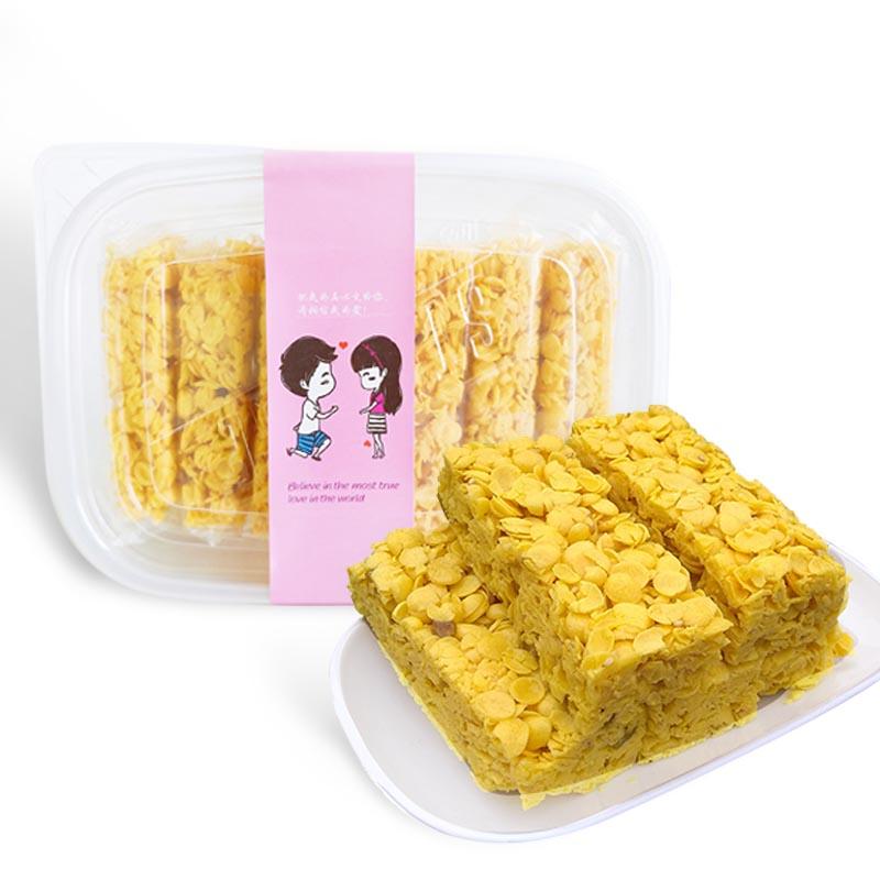盒买一送一 390g 网红奶香玉米酥盒装玉米片酥脆粗粮多纤维营养早餐