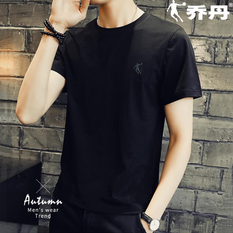 乔丹短袖男t恤2020春夏新款正品宽松速干衣男士运动半袖健身服装
