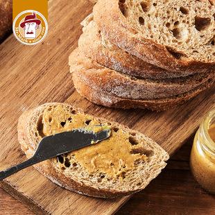 马可先生法棍面包全麦,无蔗糖无油饱腹早餐