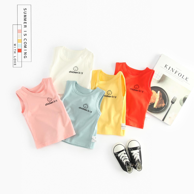 [淘寶網] 辰辰媽嬰童裝嬰兒背心內衣女T恤男夏季無袖寶寶打底衫上衣0一1歲