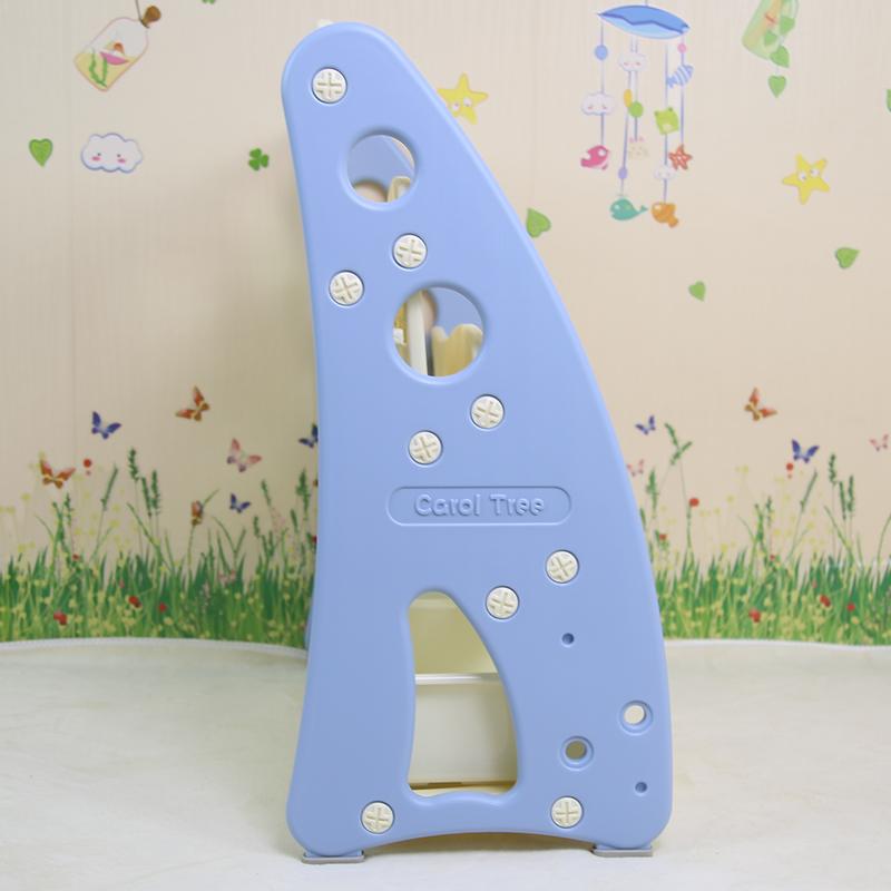 儿童塑料书架 家用宝宝绘本收纳架 幼儿园落地置物架多层简易书柜主图