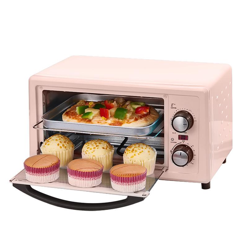 烤箱家用小型双层小烤箱烘焙多功能全自动电烤箱迷你迷小型机