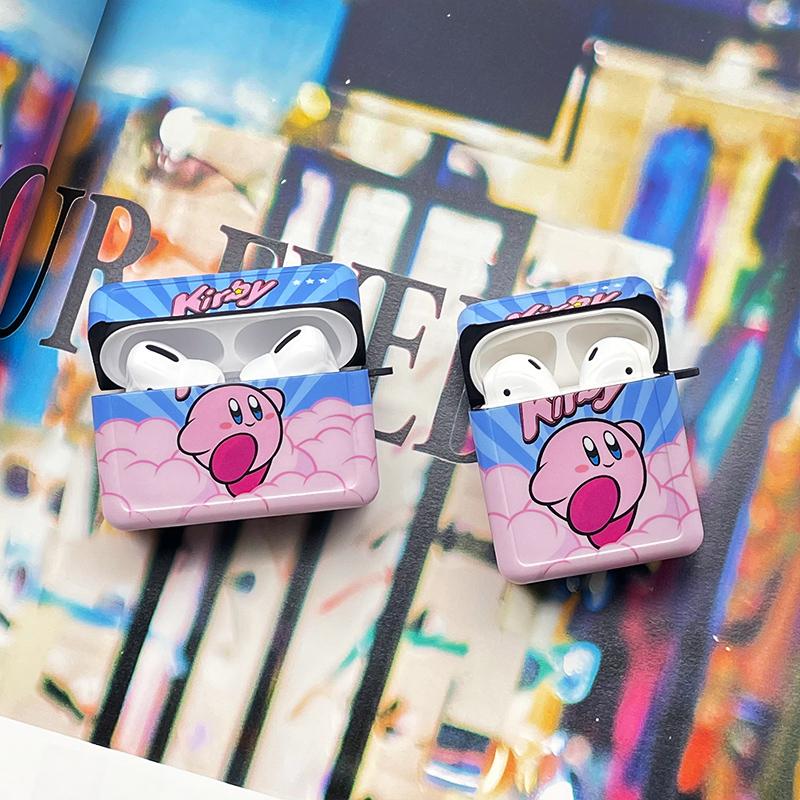 星之卡比适用airpods保护套pro卡通可爱苹果2代蓝牙耳机软壳3华为