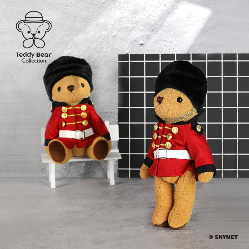礼品 英国卫兵毛绒摆件可爱萌系泰迪熊毛绒玩偶 Teddy 泰迪珍藏