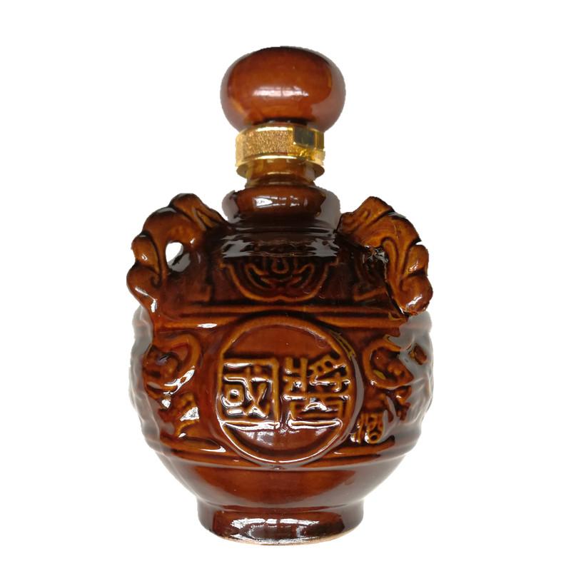 单瓶价送礼酒 500ML 度 53 盒装优级酱香型白酒 T60 贵州天下唐官郎国酱