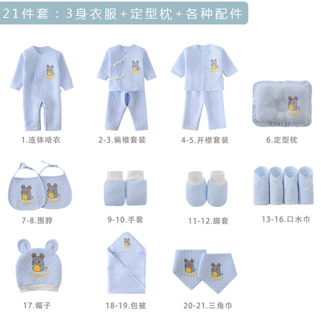 .The Year of the Rat Baby Gift Set Men's and Women's Baby Newborn Cotton Clothes, Maternal and Child Products