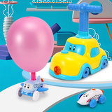 Children aerodynamic balloon car toy car puzzle baby boys and girls blowing balloons pressed cars 2-6 years 3