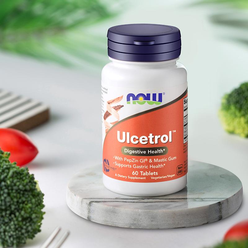 美国原装进口,专利养胃:诺奥 锌肌肽养胃粉片 60粒x2瓶