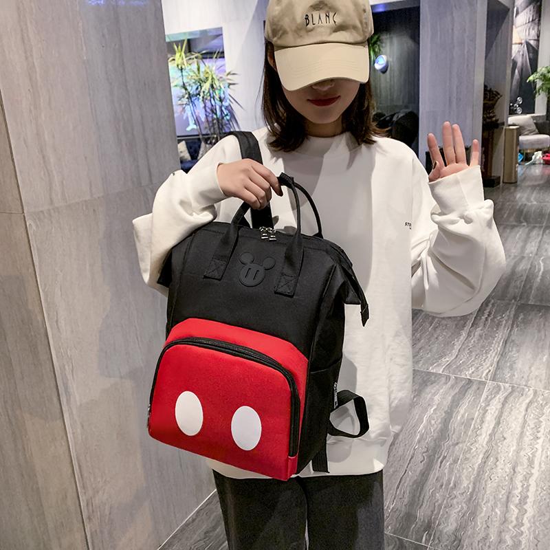 妈咪包女2021新款背包多功能大容量妈妈包母婴包双肩包手提外出