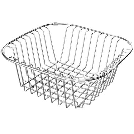 水槽沥水架洗碗池洗菜盆沥水篮304不锈钢厨房洗菜篮漏水池置物架