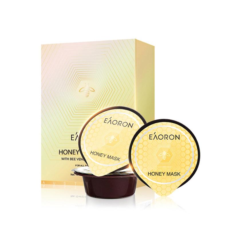 EAORON 新西兰麦卢卡蜂蜜 涂抹式蜂蜜蜂毒面膜 8颗 聚划算天猫优惠券折后¥49包邮包税(¥109-60) 送水白面膜1片