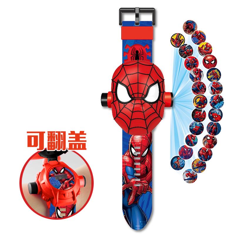 儿童手表女孩玩具卡通奥特曼幼儿变形投影电子超人男变形金刚手表