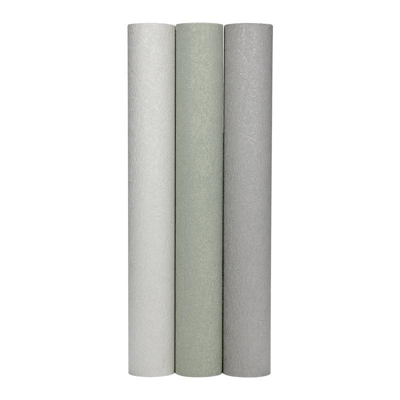 海滩 卷复古纯色胶面壁纸客厅厨房防水防霉绿色墙纸 7 MASAR