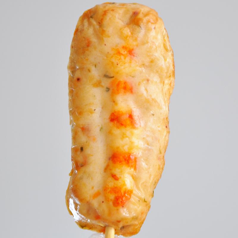 袋鱼串即食鱼饼棒 10 120g 韩国进口虾味鱼饼棒 思潮大林旗舰店