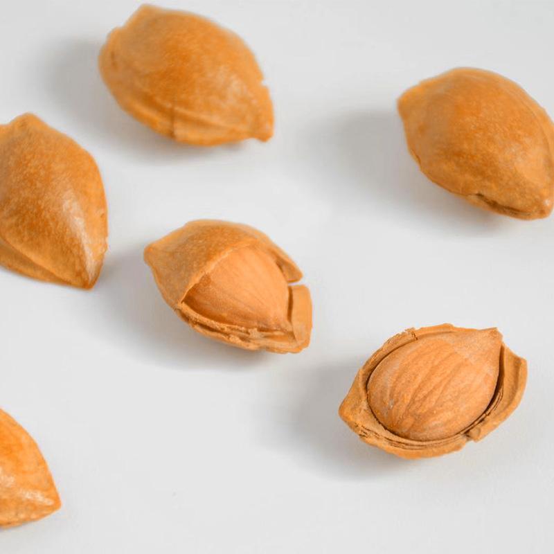 手剥开口小杏核200g坚果干果大白杏仁休闲零食小吃干货赛过巴旦木