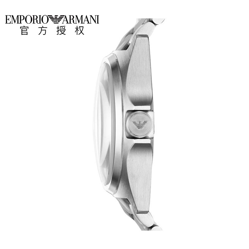 Armani阿玛尼2019新款钢带手表男 商务简约石英腕表AR11255