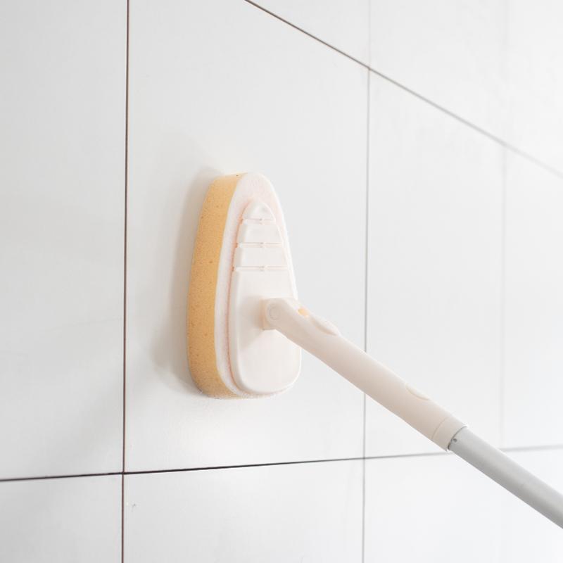 长柄浴室地板刷家用卫生间瓷砖浴缸玻璃清洁刷可伸缩去死角地刷