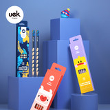 uek Children pencil correction grip position HB tunnel pen calligraphy pen nursery pupils school supplies stationery