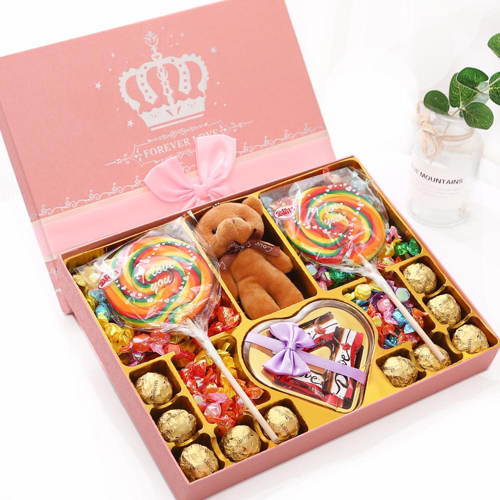 情人万圣节高档德芙巧克力礼盒装生日礼物送女友创意浪漫网红零食