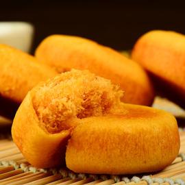 肉松饼整箱懒人速食早餐面包休闲零食绿豆饼干小吃网红糕点美食品