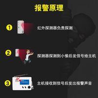 安之翼8011红外线防盗报警器 家用 店铺无线远距离感应安防系统 (¥150)
