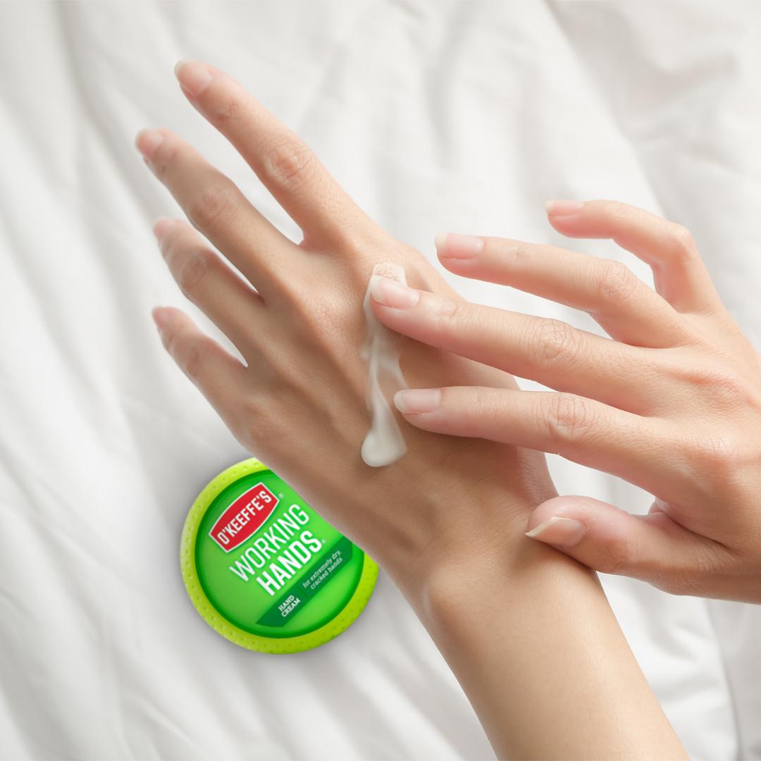 美国OKeeffes奥可菲修复手部干裂干燥护手霜滋润防裂润肤霜2支装