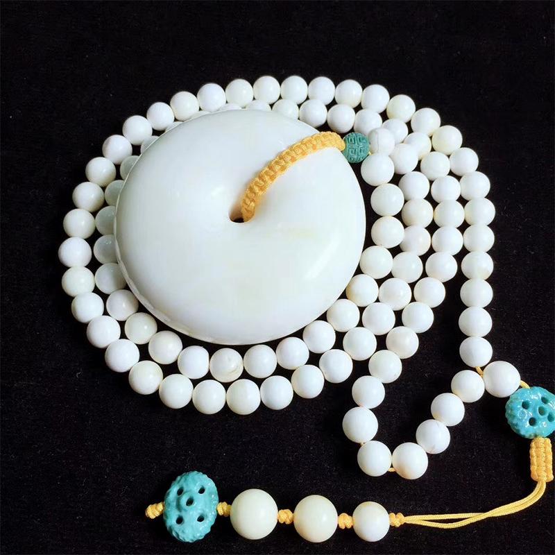 珀界直播天然蜜蜡琥珀原石手串项链吊坠鸡油黄手串白花戒指三通