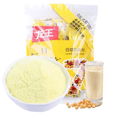 龙王豆浆粉原味甜味红枣黑豆小包装肯德基同款豆浆专用速溶无糖Y小图5