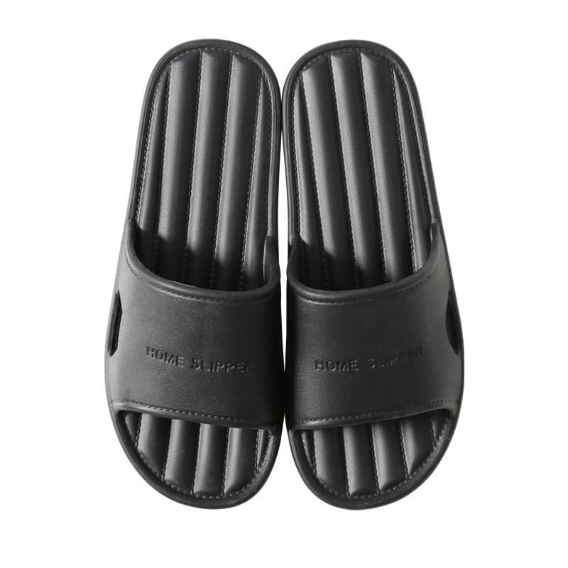 买一送一拖鞋女夏季家用室内洗澡防臭防滑浴室软底居家凉拖鞋男夏