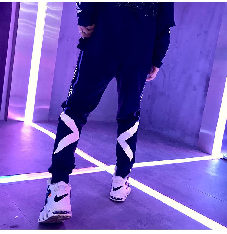 夏季青少年男孩16岁17高中学生运动宽松休闲春秋裤子潮流新款卫裤