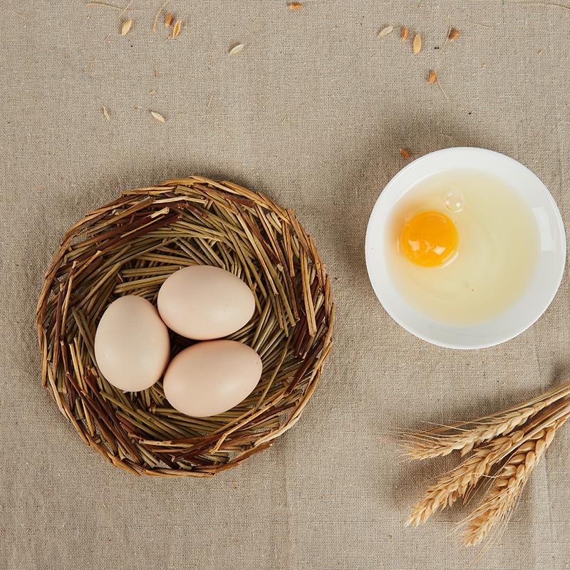 涢水乡 A+无抗正宗当日产散养农村柴草笨孕妇月子新鲜土鸡蛋30枚