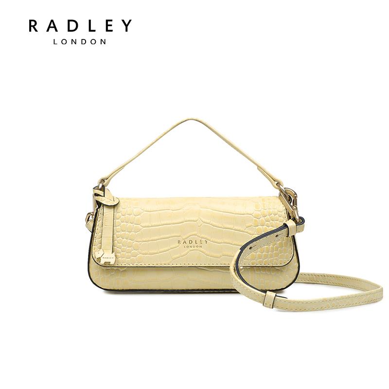 【张梓琳同款】Radley翻盖牛皮法棍包女手提包单肩包H2403335