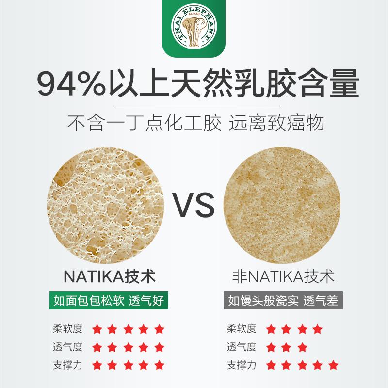米橡胶床垫可定制 1.8 床 1.5m 泰国乳胶床垫原装进口天然乳胶 Aliyah