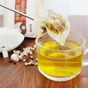 红豆薏米茶花茶修思燕正品同款祛湿