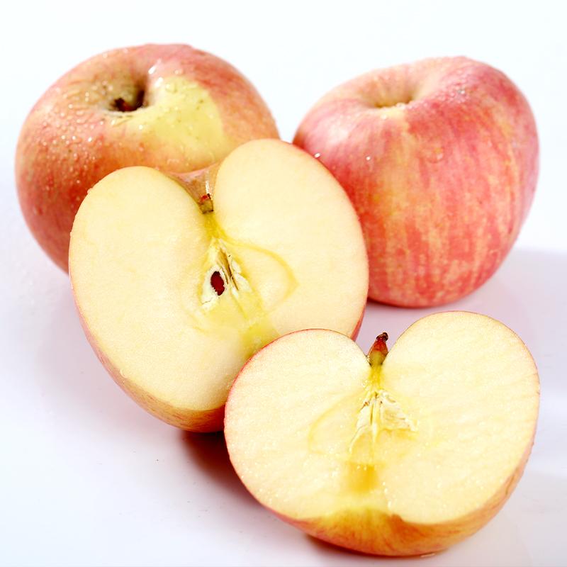 山东红富士苹果脆甜可口现货秒发3斤5斤10斤包邮新鲜水果烟台苹果