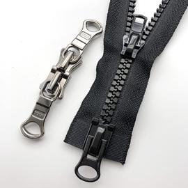拉链YKK专用3号金属拉锁头衣服5号尼龙拉链头5号8号树脂双向拉头