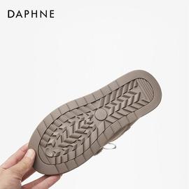 达芙妮雪地靴女2020冬季新款平底休闲保暖加绒棉鞋甜美时尚短靴女