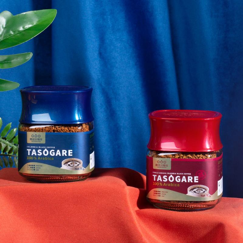 2022亚运会官方指定咖啡,100%阿拉比卡豆:50g 隅田川 哥伦比亚冻干速溶纯咖啡粉