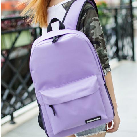 2020韓版雙肩包中學生書包大容量背包學院風男女休閑旅游包