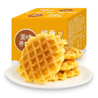 BUH华夫饼营养美味早餐速食面包懒人休闲食品充饥宵夜即食整箱